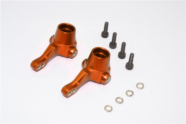 HPI Bullet 3.0 Nitro & Bullet Flux Aluminum Front Knuckle Arm - 1Pr Set Orange