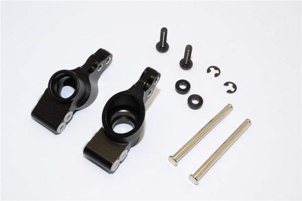 HPI Bullet 3.0 Nitro & Bullet Flux Aluminum Rear Knuckle Arm - 1Pr Set Black