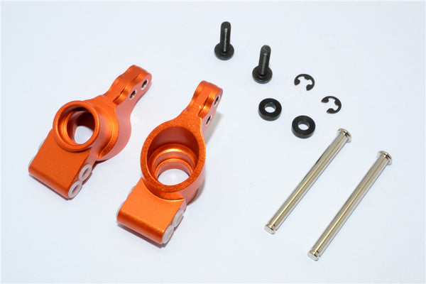 HPI Bullet 3.0 Nitro & Bullet Flux Aluminum Rear Knuckle Arm - 1Pr Set Orange