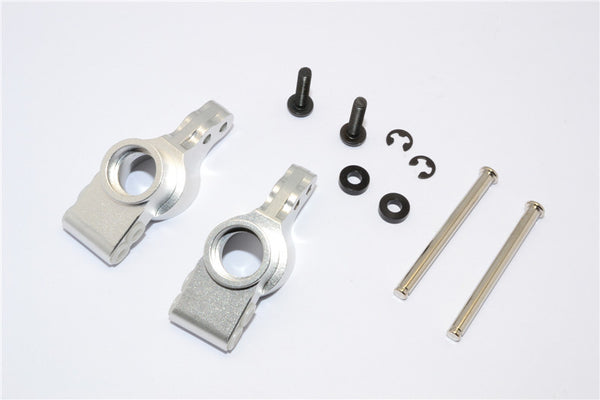 HPI Bullet 3.0 Nitro & Bullet Flux Aluminum Rear Knuckle Arm - 1Pr Set Silver