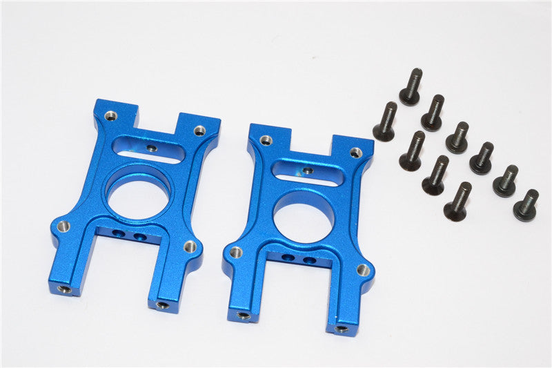 HPI Bullet 3.0 Nitro Aluminum Center Diff Housing - 2Pcs Set Blue