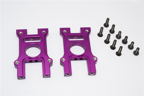 HPI Bullet 3.0 Nitro Aluminum Center Diff Housing - 2Pcs Set Purple