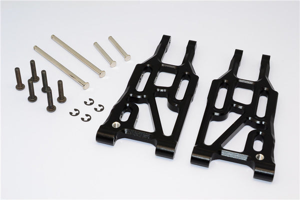 HPI Bullet 3.0 Nitro & Bullet Flux Aluminum Front Suspension Arm - 1Pr Set Black