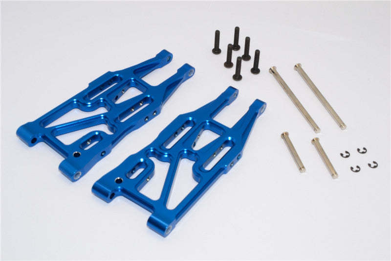 HPI Bullet 3.0 Nitro & Bullet Flux Aluminum Front Suspension Arm - 1Pr Set Blue