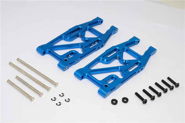 HPI Bullet 3.0 Nitro & Bullet Flux Aluminum Rear Suspension Arm - 1Pr Set Blue