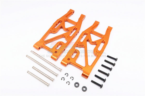 HPI Bullet 3.0 Nitro & Bullet Flux Aluminum Rear Suspension Arm - 1Pr Set Orange