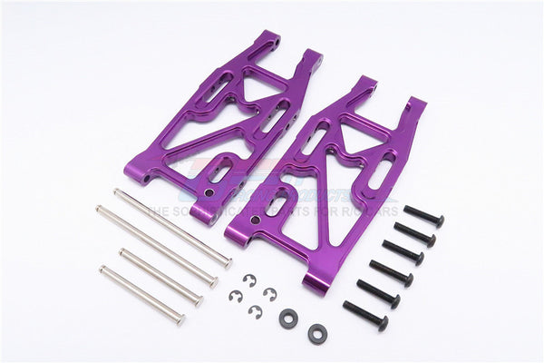 HPI Bullet 3.0 Nitro & Bullet Flux Aluminum Rear Suspension Arm - 1Pr Set Purple