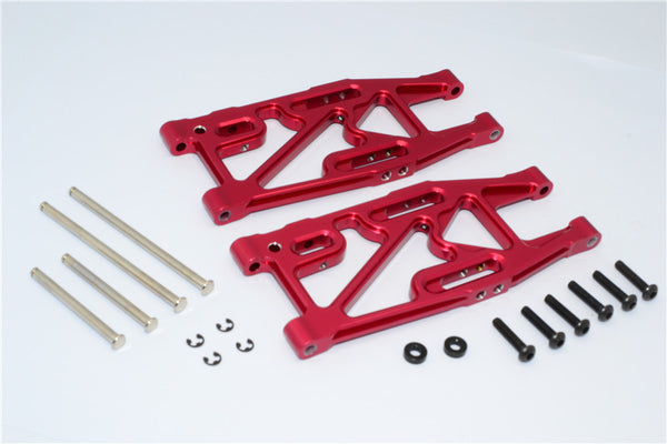 HPI Bullet 3.0 Nitro & Bullet Flux Aluminum Rear Suspension Arm - 1Pr Set Red