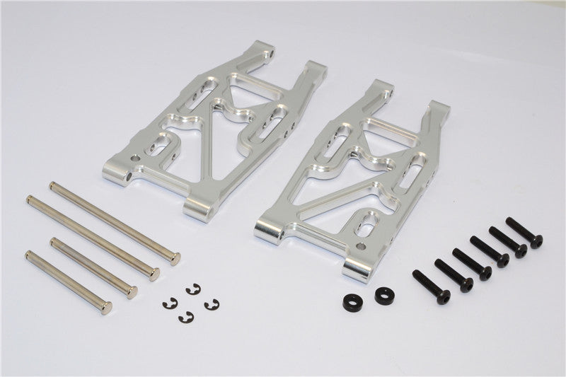 HPI Bullet 3.0 Nitro & Bullet Flux Aluminum Rear Suspension Arm - 1Pr Set Silver