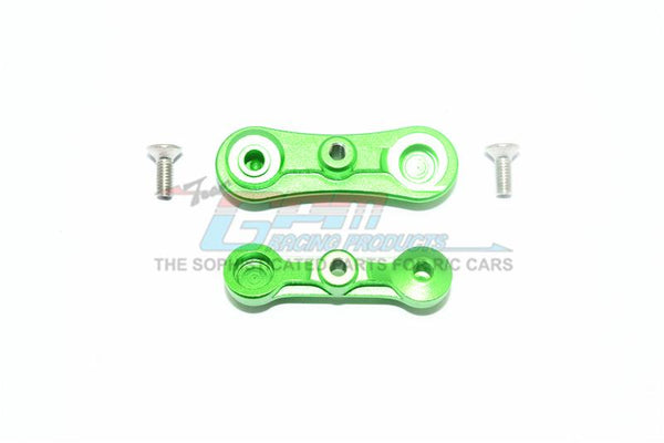 Losi 1:10 Baja Rey / Rock Rey Aluminum Stabilizing Mount For Steering Assembly - 1Pr Set Green