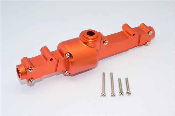 Tamiya CC01 Aluminum Rear Differential Case - 1Set Orange