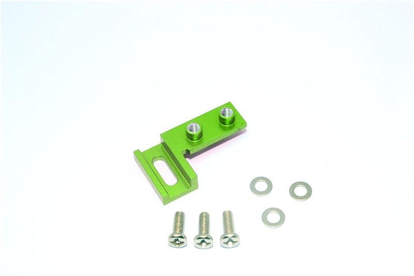 Tamiya CC01 Aluminum Servo Mount - 1Pc Green