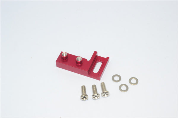 Tamiya CC01 Aluminum Servo Mount - 1Pc Red