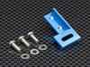Tamiya CC01 Aluminum Servo Mount - 1Pc Blue
