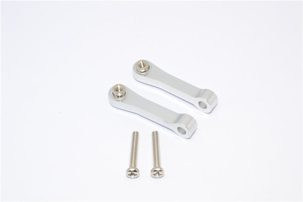 Tamiya CC01 Aluminum Front Upper Suspension Arm - 1Pr Silver