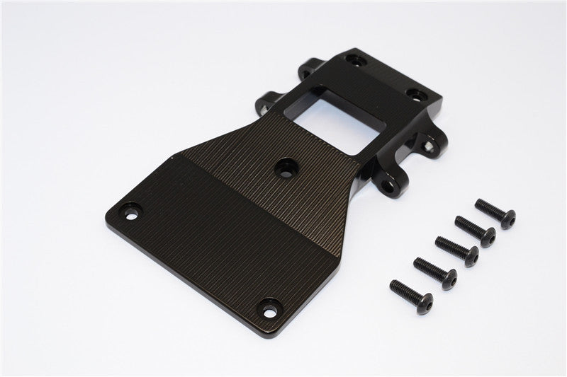 Tamiya CC01 Aluminum Front Lower Arm Plate - 1Pc Black