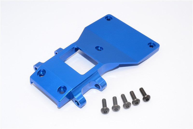Tamiya CC01 Aluminum Front Lower Arm Plate - 1Pc Blue
