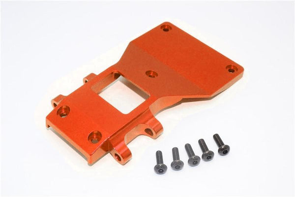 Tamiya CC01 Aluminum Front Lower Arm Plate - 1Pc Orange