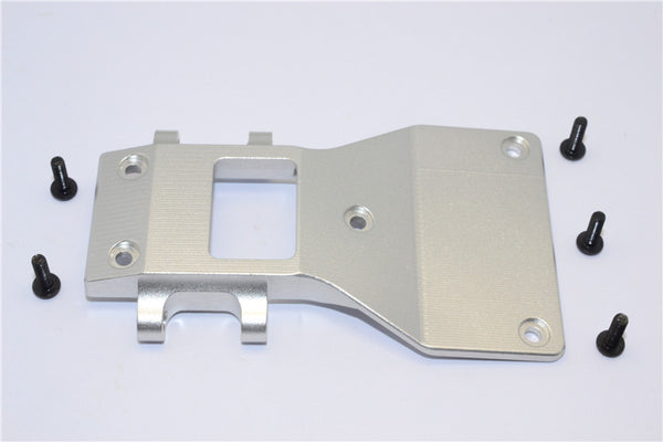 Tamiya CC01 Aluminum Front Lower Arm Plate - 1Pc Silver