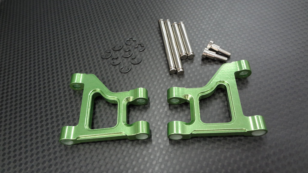 Tamiya CC01 Aluminum Front Lower Suspension Arm - 1Pr Green