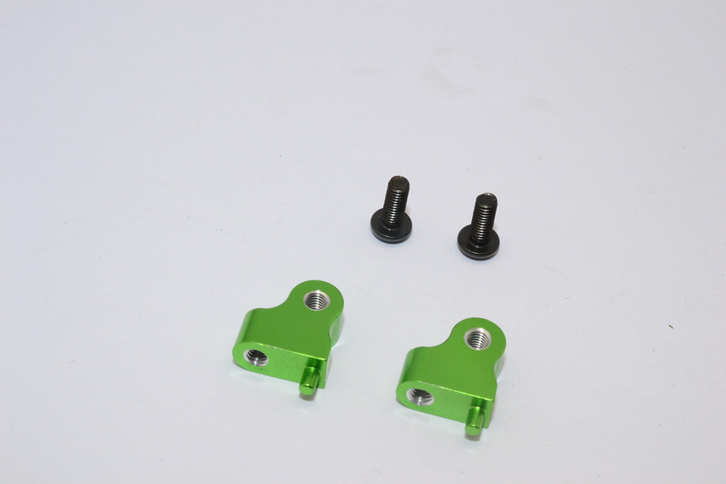 Tamiya CC01 Aluminum Mount Use For Front Damper - 2Pcs Set Green