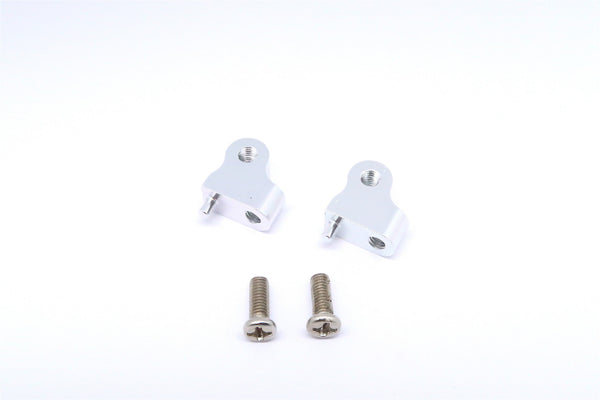 Tamiya CC01 Aluminum Mount Use For Front Damper - 2Pcs Set Silver