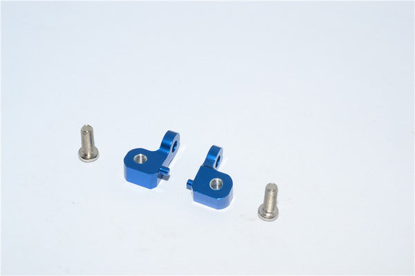 Tamiya CC01 Aluminum Mount Use For Rear Damper - 2Pcs Set Blue