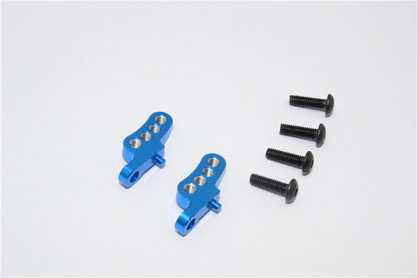 Tamiya CC01 Aluminum Adjustable Mount Use For Rear Damper - 2Pcs Set Blue