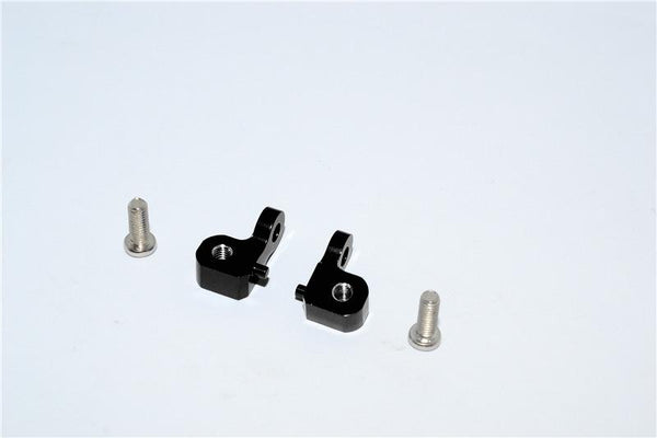 Tamiya CC01 Aluminum Mount Use For Rear Damper - 2Pcs Set Black