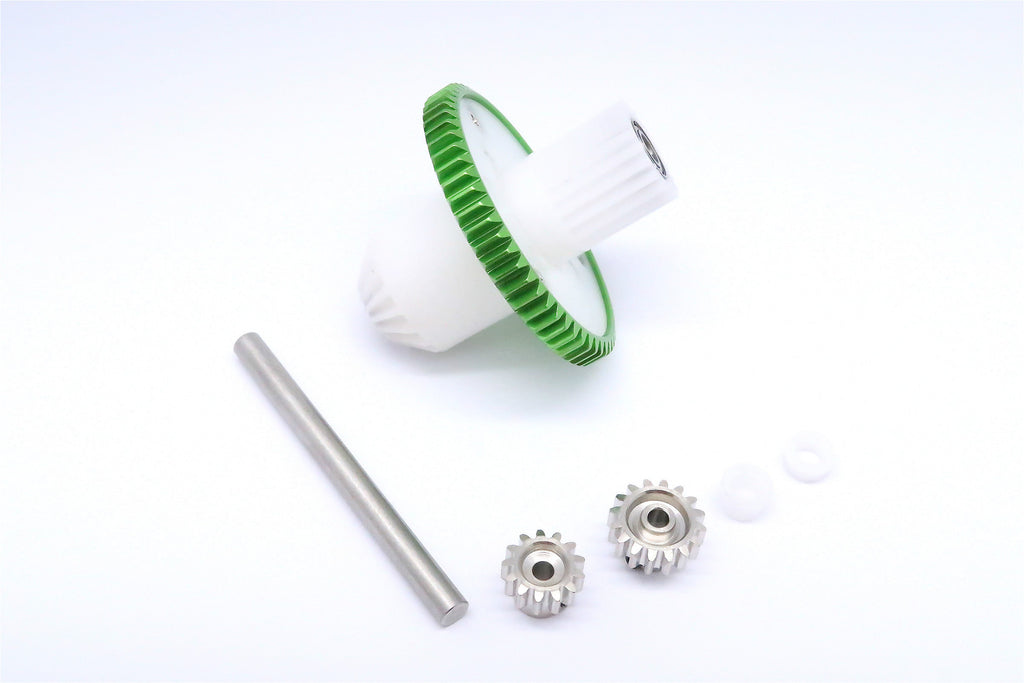 Tamiya CC01 Tamiya CC01 Main Gear Set - 1 Set Green