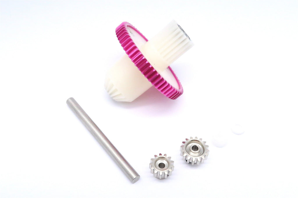 Tamiya CC01 Main Gear Set - Pink