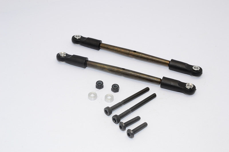 Tamiya CC01 and M1025 Spring Steel Rear Lower Tie Rod - 2 Pcs Set