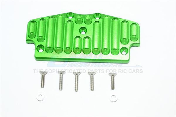 Tamiya CC01 Aluminum Front Bumper Mount - 1Pc Set Green