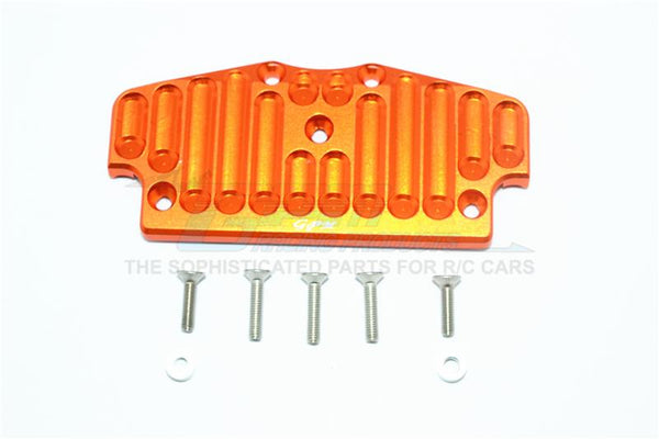 Tamiya CC01 Aluminum Front Bumper Mount - 1Pc Set Orange