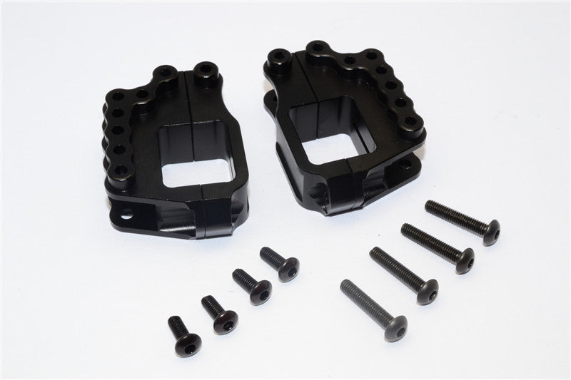 HPI Crawler King Aluminum High Link Bracket - 4 Pcs Set Black