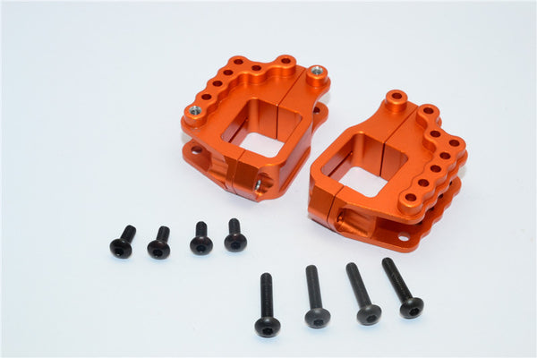HPI Crawler King Aluminum High Link Bracket - 4 Pcs Set Orange