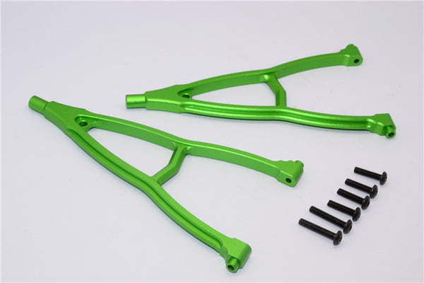 HPI Crawler King Aluminum Front+Rear Y Plate (For 295mm Wheelbase) - 2Pcs Set Green