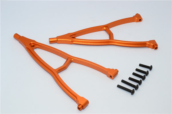 HPI Crawler King Aluminum Front+Rear Y Plate (For 295mm Wheelbase) - 2Pcs Set Orange