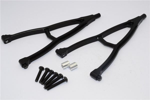 HPI Crawler King Aluminum Front+Rear Y Plate (For 310mm Wheelbase) - 2Pcs Set Black