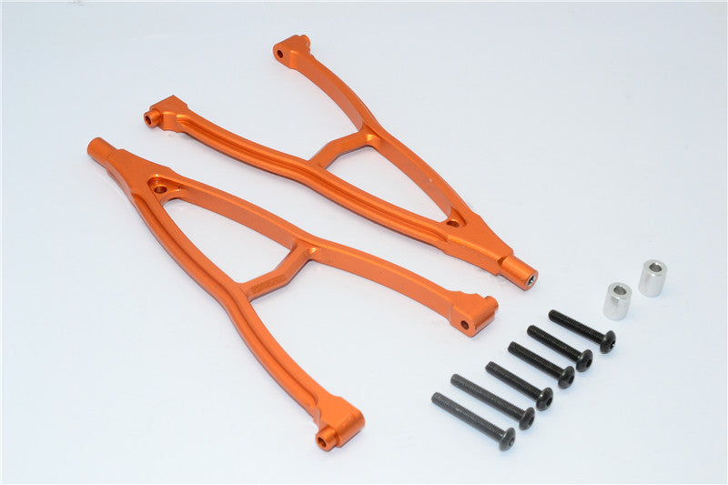 HPI Crawler King Aluminum Front + Rear Y Plate (For 310mm Wheelbase) - 2Pcs Set Orange