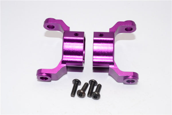 HPI Crawler King Aluminum Front/Rear C-Hub - 1Pr Set Purple