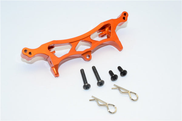 HPI Crawler King Aluminum Front/Rear Shock Tower - 1Pc Set Orange