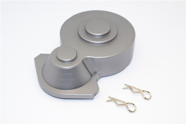 HPI Crawler King Aluminum Spur Gear Case - 1Pc Set Gray Silver