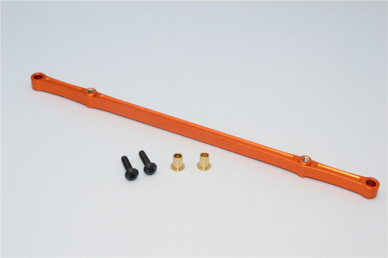 HPI Crawler King Aluminum Front/Rear Steering Tie Rod - 1Pc Set Orange