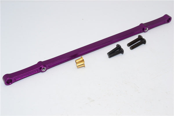 HPI Crawler King Aluminum Front/Rear Steering Tie Rod - 1Pc Set Purple