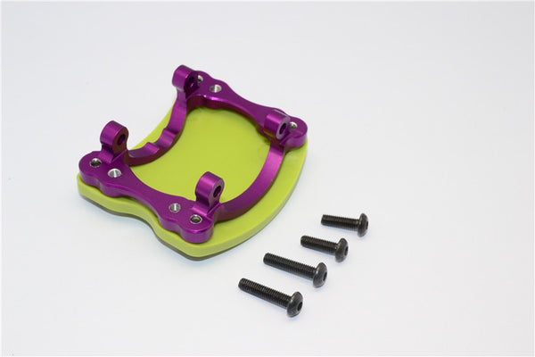 HPI Crawler King Aluminum+Plastic Front/Rear Axle Protector Mount - 1 Set Purple