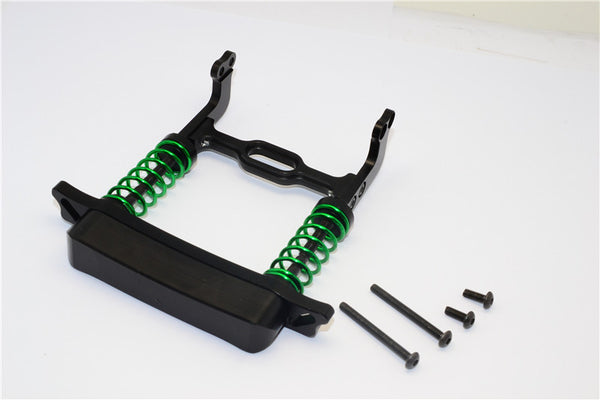 HPI Crawler King Aluminum Front Bumper Absorber - 1 Set Black