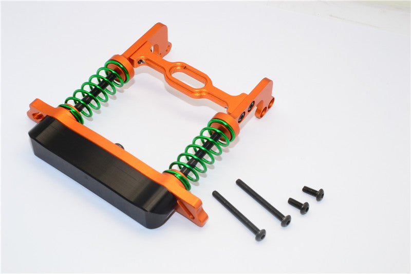 HPI Crawler King Aluminum Front Bumper Absorber - 1 Set Orange