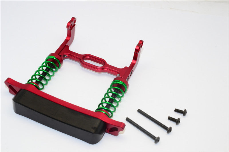 HPI Crawler King Aluminum Front Bumper Absorber - 1 Set Red
