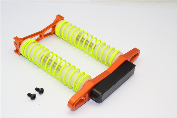 HPI Crawler King Aluminum Rear Bumper Absorber - 1 Set Orange